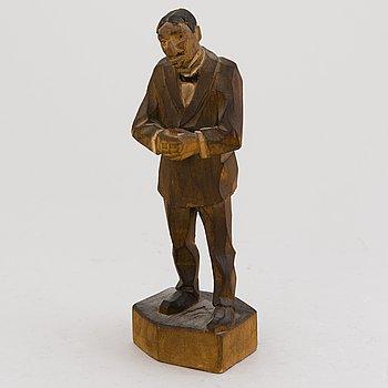 ALBIN KAASINEN, sculptur, signed.