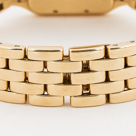 Cartier, panthère, wristwatch, 22 x 22 (30) mm