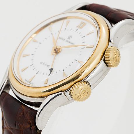 Revue thommen, wristwatch, cricket, 35 mm