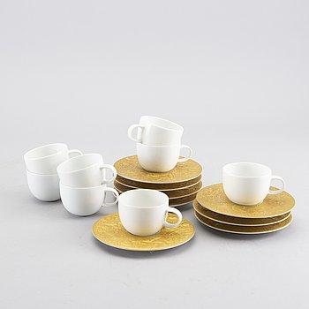 BJÖRN WIINBLAD, a set of 8 coffee cups.