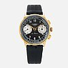 Universal, genève, uni compax, chronograph, wristwatch, 36 mm.