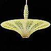 A 1930s 40s ceiling light