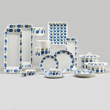 STIG LINDBERG, a 39 piece porcelain service, Gustavsberg.