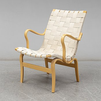 Armchair 'Eva' by Bruno Mathsson for Dux, late 20th or early 21th century.