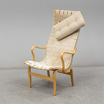 Armchair 'Eva hög' by Bruno Mathsson for Dux, late 20th or early 21th century.