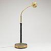 Josef frank, a brass table lamp, model '2434', for firma svenskt tenn, second half of the 20th century.