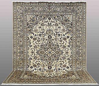 CARPET, Keshan, ca 349 x 253 cm.