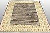 Carpet, flat weave,  ca 216 x 179 cm