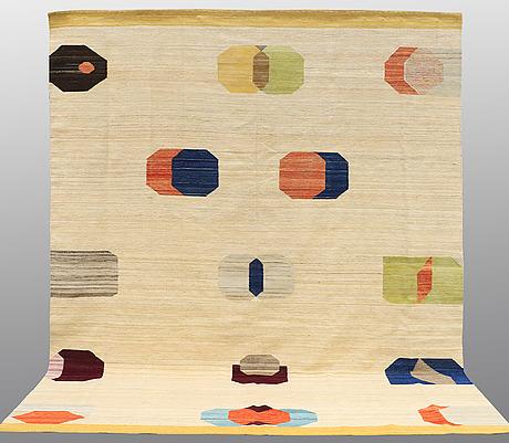 Carpet, flat weave, ca 340 x 265 cm