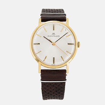 MOVADO, wristwatch, 33.5 mm.