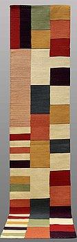 RUNNER, flat weave, ca 387 x 83 cm.