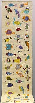 GALLERIMATTA, kelim, ca 287 x 85 cm.