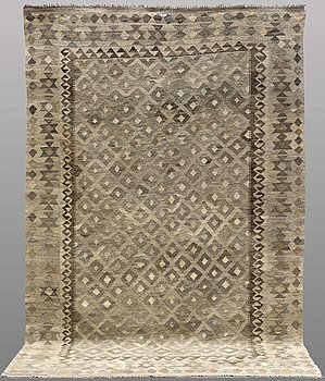 CARPET, Kilim, ca 297 x 199 cm.