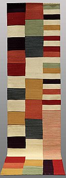 RUNNER, flat weave, ca 298 x 82 cm.