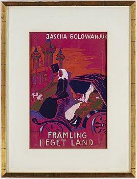 ISAAC GRÜNEWALD, gouache and hightening white on paper, signed Grünewald.