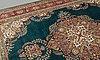 An old tabriz carpet ca 390 x 295 cm