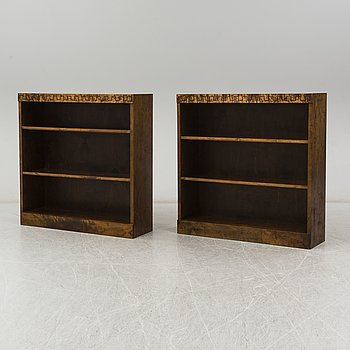 A pair of Swedish Grace 1920's/30's book cases.