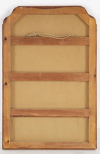 A swedish modern mirror, 1940's
