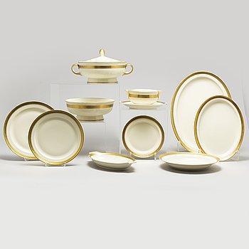 A part porcelain dinner service, Rosenthal, 20th century (52 pieces).