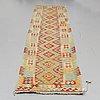 Matto, an oriental kilim, ca 421,5 x 80,5 cm