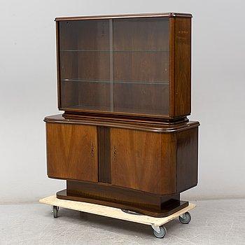 A mahogany cabinet, 1930's.