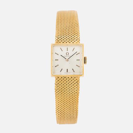 Omega, wristwatch, 17 x 17 cm