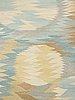 "Barbro nilsson, a carpet, ""solfläckar"", flat weave, ca 308,5 x 206 cm, signed ab mmf bn."