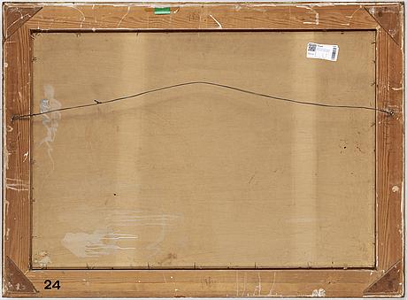 Rikard lindstrÖm, oil on paper panel, signed rikard lindström and dated 1927