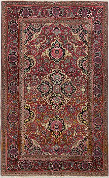 MATTA, semiantik Teheran sannolikt, ca 217 x 138 cm.