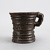 A swedish cast iron mortar, 18th century.