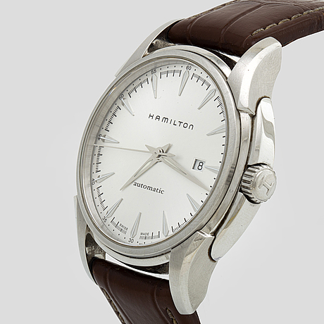 A hamilton jazz master automatic wristwatch 42 mm