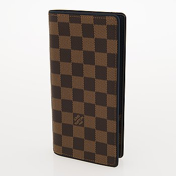"LOUIS VUITTON,""Brazza"", PLÅNBOK."