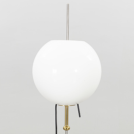 A late 20th century ateljé lyktan floor lamp