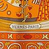 HermÈs, scarf 'peuple du vent'