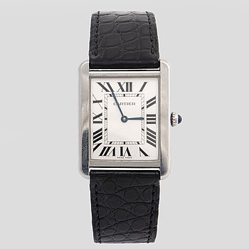 CARTIER, Tank Solo, wristwatch, 27x35 mm.