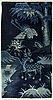A chinese paotou carpet ca 147 x 78 cm