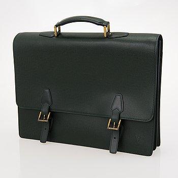 LOUIS VUITTON Taiga Tashkent Briefcase.