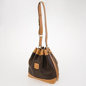 CÉLINE Macadam Bucket bag.