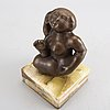 Rudolf schwaiger, sculpture bronze
