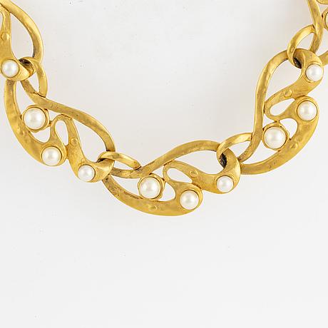 Oscar de la renta, necklace