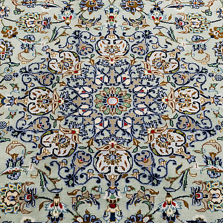 A carpet, kashan, around 381 x 271 cm