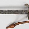 "A saber marked ""lieut. cyril tredcroft jan. 28th 1915"
