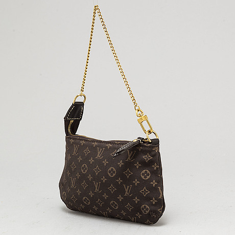 "Louis vuitton, bag, ""mini lin pochette"""
