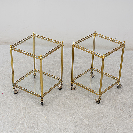 A pair of tables, second half of the 20th century