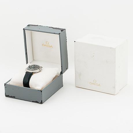 Omega, geneve dynamic, wristwatch, 40 x 36 mm