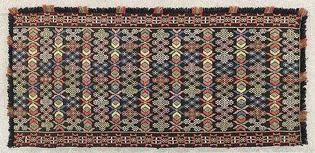 A swedish pillow around 1900 ca 137 x 66 cm