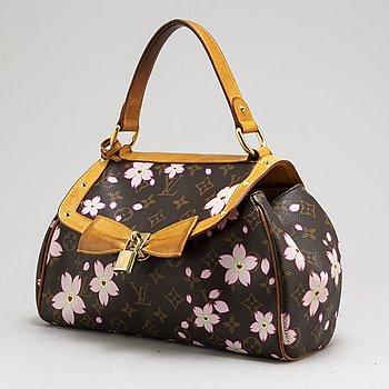 LOUIS VUITTON, Monogram Murakami Cherry Blossom Sac Retro Bag.