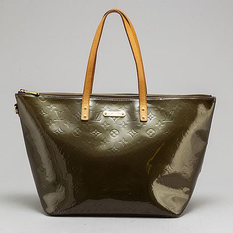 "Louis vuitton, väska, ""vernis bellevue"""