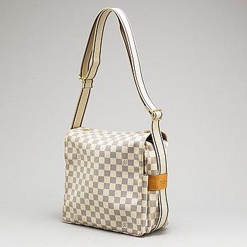 LOUIS VUITTON, a 'Damier Azur Naviglio' bag.
