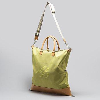 LOUIS VUITTON, a 'Damier Geant Americas Cup Cube Travel bag'.
